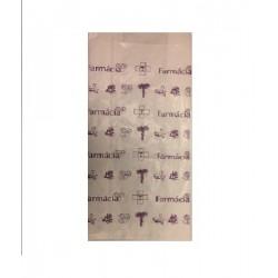 692300327Saqueta de Papel Branco s/Asa 14x8x30 Impressão 1 Cor 1 Lado