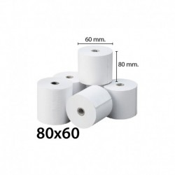 Rolo Papel Termico 80x60