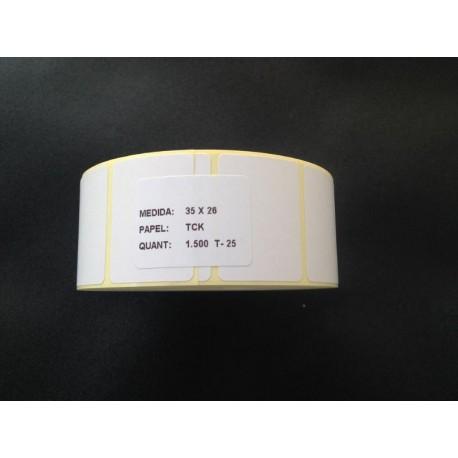 Etiquetas Termicas 35x26 Termico C/K