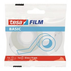 Fita Adesiva Tesa Basic 33mt x15mm (1Rolo) 58542