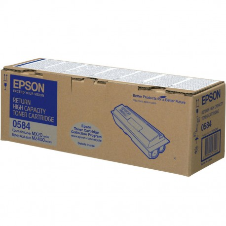 Toner Epson Aculaser M2400D/MX20DN C/ Prog. Ret. Alta Cap. Original